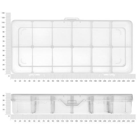 Кассетница для компонентов Pro'sKit 203-132F