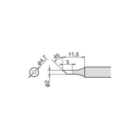 Паяльне жало Goot RX-80HRT-2C Прев'ю 1