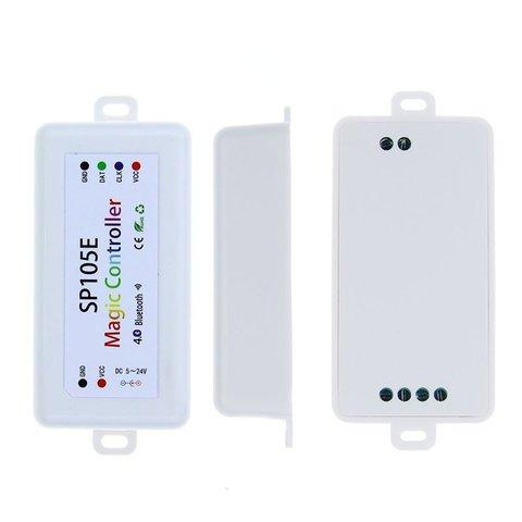 Контролер з Bluetooth-управлінням SP105E (RGB, WS2801, WS2811, WS2812, WS2813 5-24 В) Прев'ю 3