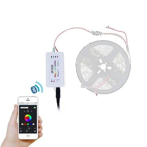 Контролер з Bluetooth-управлінням SP105E (RGB, WS2801, WS2811, WS2812, WS2813 5-24 В) Прев'ю 4