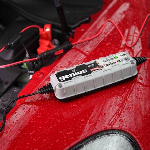 Интеллектуальное зарядное устройство G3500EU для 6 В и 12 В аккумуляторов - Просмотр 4