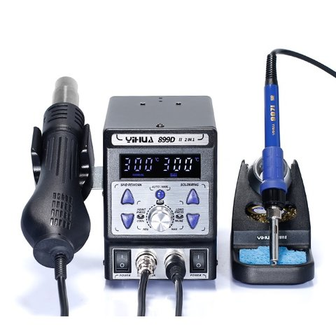 Hot Air Soldering Station YIHUA 899D-II Preview 1